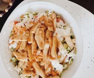 food, restaurant, and salad image