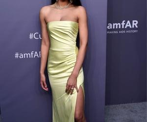 model, dress, and amfar gala image
