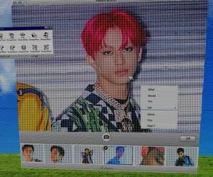 edit, kpop, and mark image