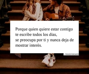 amor, frases, and interes image