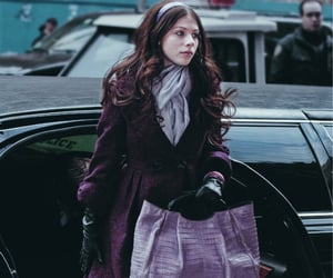bag, michelle trachtenberg, and scarf image