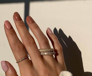 girl, nice, and trending nails image