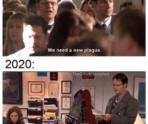 2020, accurate, and dwight schrute image