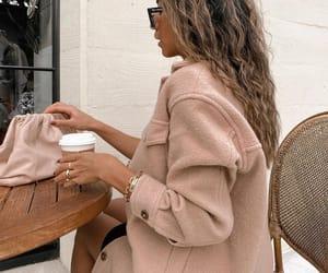 blogger, bottega veneta, and coffee image