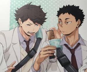 anime, haikyuu, and aoba johsai image