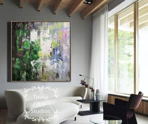 abstract, oil art, and abstract artist image