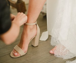 bride, shoes, and soft image