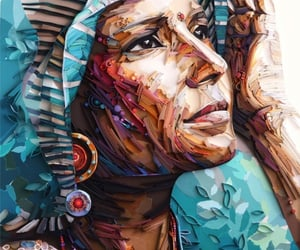 art ideas, art, and paper art image