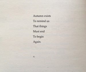 quotes, autumn, and words image
