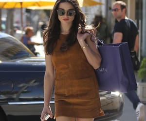 actress, street style, and brunette image
