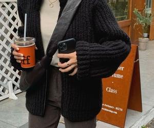 fall, fashion, and knit image