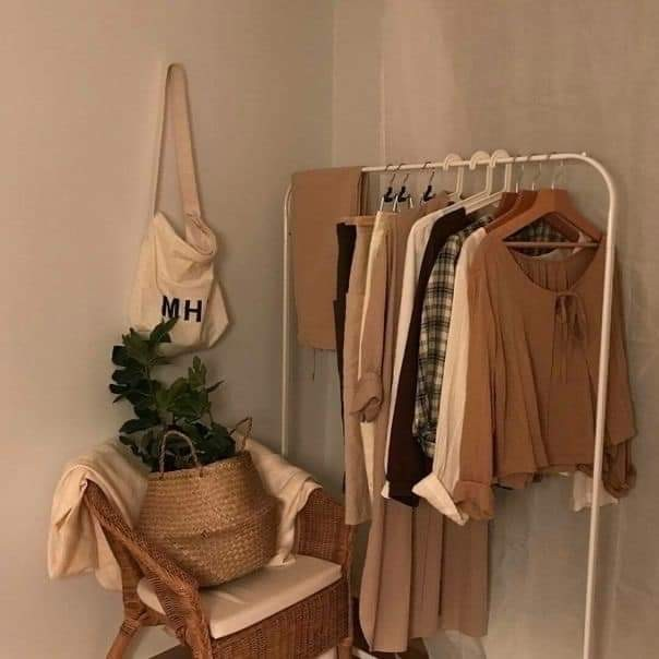beige, aesthetic, and clothes image