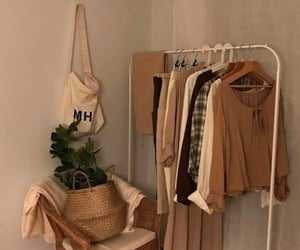 beige, aesthetic, and plants image