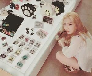 blonde, tae yeon, and kim tae yeon image