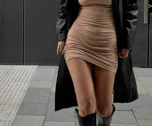 knee high boots, everyday look, and chic elegant image