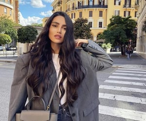 fashion, hairstyles, and long hair image