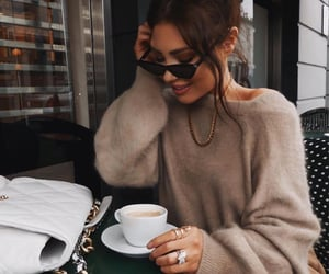 coffee, fashion, and blogger image