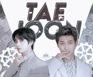 kpop edits, taehyung edit, and namjoon edit image