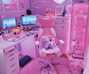 pink, cute, and aesthetic image