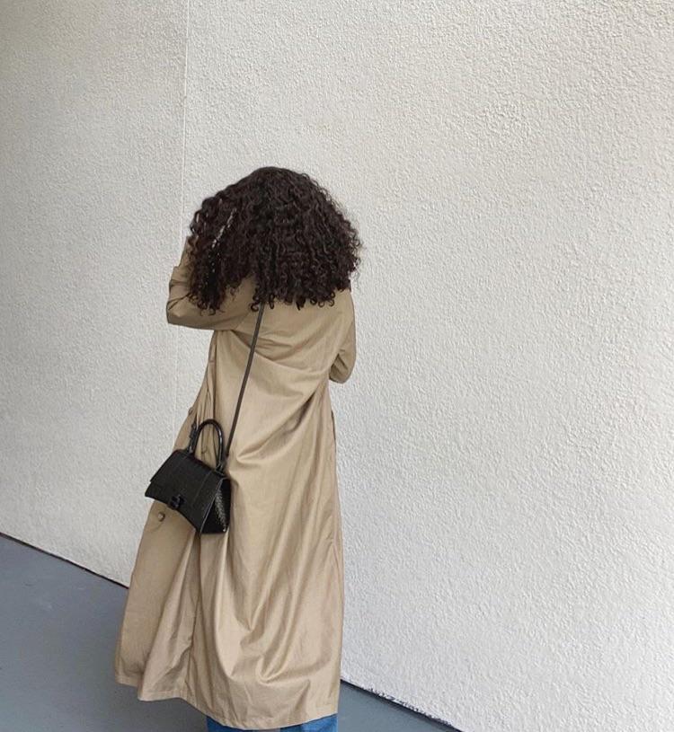 Balenciaga, curly hair, and everyday look image