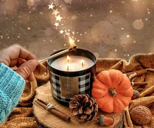 autumn, cozy, and decorations image