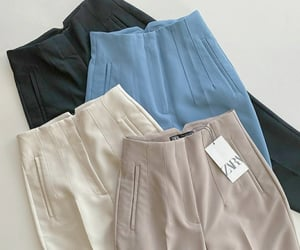 casual, Zara, and pants image