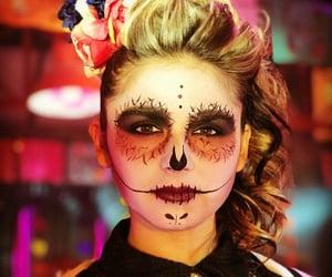 halloween costumes, makeup, and halloween makeup image