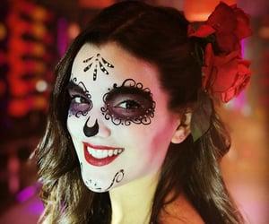 halloween costumes, halloween makeup, and delfi image