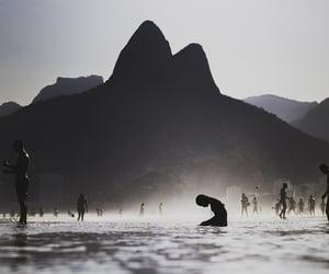 beach, brazil, and summer image