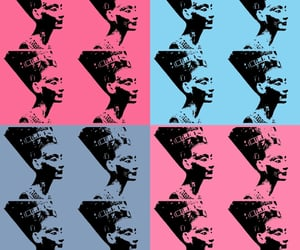 ancient egypt, pink, and pop art image