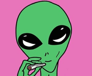 alien, smoke, and et image
