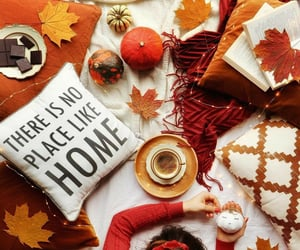 autumn, chocolate, and home image