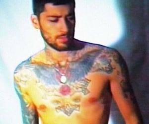 boys, Tattoos, and zayn malik image