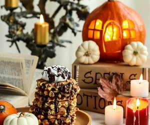 autumn, chocolate, and Cookies image