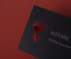 branding, business cards, and marketing image
