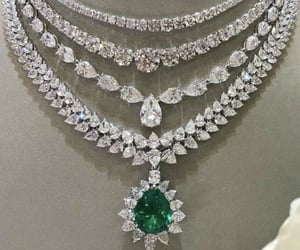 bling, diamonds, and emerald image