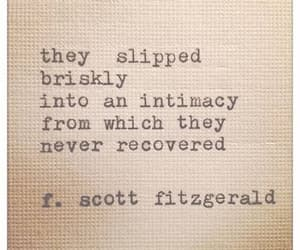 f scott fitzgerald, love, and quote image