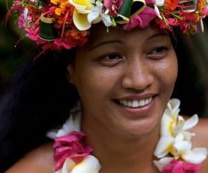 tahitian woman image