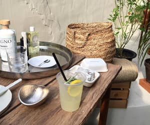 drink, summer, and lemonade image