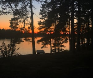 lake, nature, and sommar image