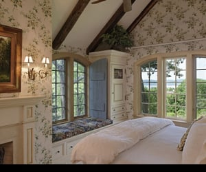 beautiful room, house, and bedroom image
