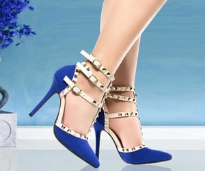 high heels and women's shoes image