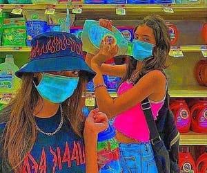 filter, girls, and amino image