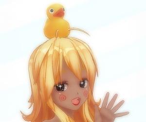 anime, duck, and manga image