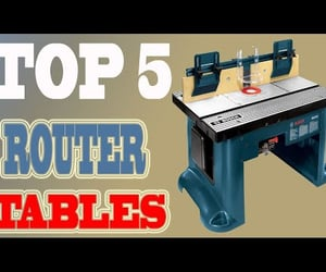 best router tables, best router table, and top rated router tables image