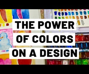 color combinations, video, and color wheel image