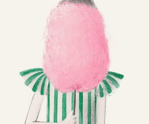 candy, girl, and pink image