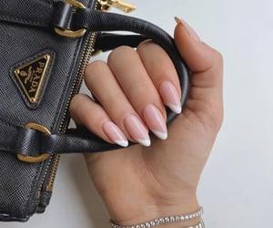 nails, Prada, and bag image