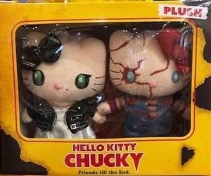 Chucky, hello kitty, and plush image
