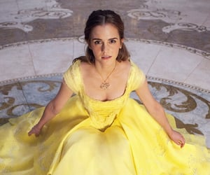 beauty and the beast, bella, and movie image